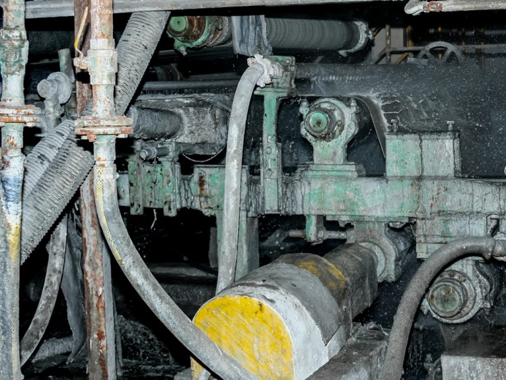 asbestos detection in engine block